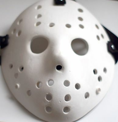 Jason Voorhees Friday the 13th Jason mask White Durable Really Strong Mask Heavy