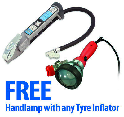 PCL AFG4H03 MK4 Tyre Inflator Hold On Hose 21 with FREE Handlamp