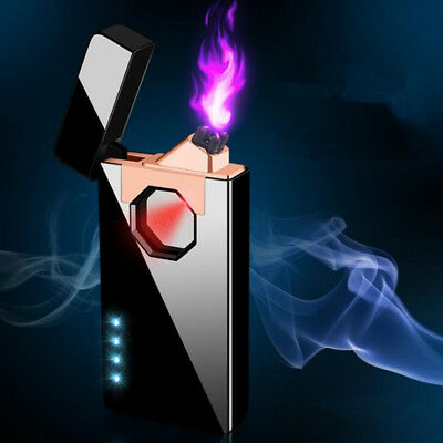 USB charging Infrared sensing Plasma Double Arc Windproof flameless lighters