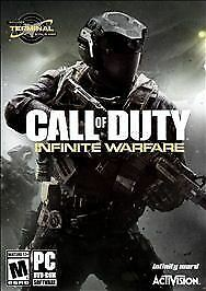 Call of Duty: Infinite Warfare (PC, 2016) NEW and SEALED