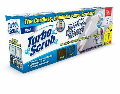 Turbo Scrub Lite Standard & Deluxe Cordless Rechargeable High Power Scrub Brush