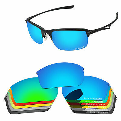 532d23ab278 PapaViva POLARIZED ETCHED Replacement Lenses For-Oakley WireTap Sunglass
