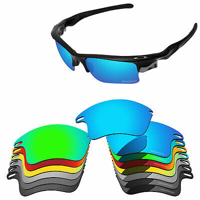 ff2fee3cb9 PapaViva POLARIZED ETCHED Replacement Lenses For-Oakley Fast Jacket XL  Sunglass
