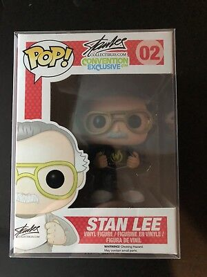Stan Lee 2014 Wizard World Convention Exclusive #02 LE 2000 Pieces funko