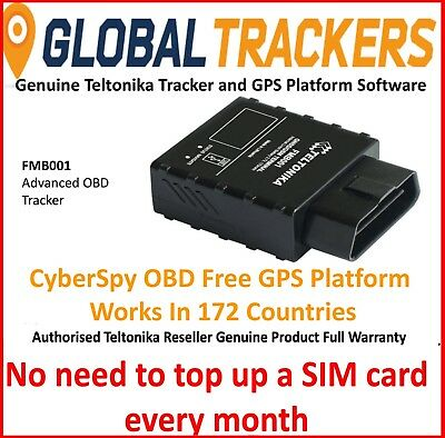 CyberSpy OBD Bundle GPS Vehicle Car Tracker Taxi Van Fleet Tracking Spy Device