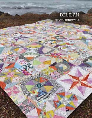 Delilah Jen Kingwell Designs Scrappy Quilt Pattern Booklet
