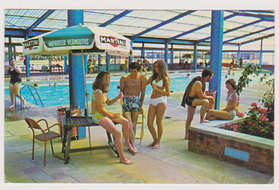 The Pool At Maddieson's - St Margaret's - Dover - Deal - Kent - Postcard - 1972