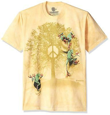 3083 Roots of Peace Symbol in Tree The Mountain T-Shirt All Sizes