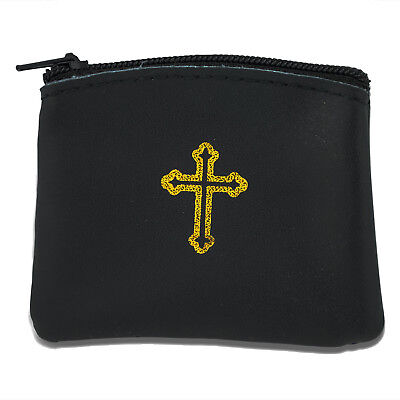 Genuine Leather Rosary Pouch