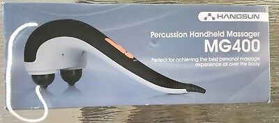 Hangsun Handheld Neck Back Massager MG400 Deep Tissue Percussion Massage