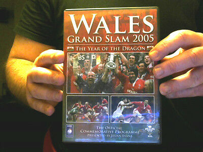 Wales Grand Slam 2005 Dvd  Rugby Perfect Christmas Gift! Free  Uk Post
