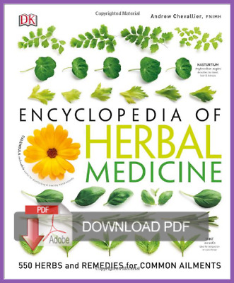 Encyclopedia of Herbal Medicine 3rd Edition 2016 EB00K [PDF] Email Delivery