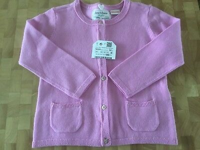 Girls' Clothing (newborn-5t) Girls 0-3mths Hand Knit Bolero In Pink Handknitted Bnwot High Safety Clothing, Shoes & Accessories