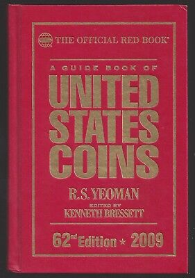 2009 The Official Red Book Of U.s. Coins - 62Nd Edition - Hardcover