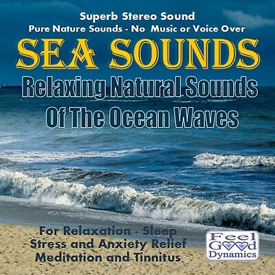 Sea Sounds CD - Relaxing Natural Sounds Of The Ocean Waves - For Relaxation