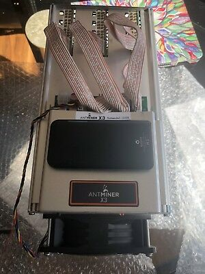 Bitmain Antminer X3 ASIC 220kH/s Cryptocurrency Miner