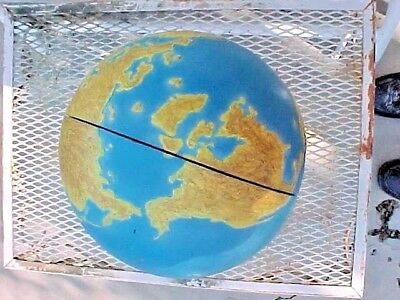 EARTH GLOBE INNER OUTER MANTLE CRUST TO CORE TEACHERS SCHOOL TEACHING AID 1950s