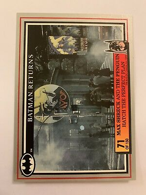 Batman Returns 1992 Dynamic Card #71 Max Schreck
