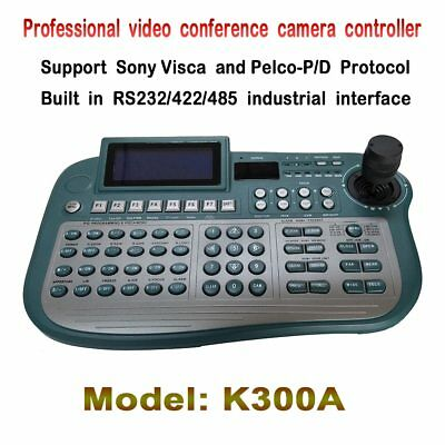 Professional Conference camera 3 Axis keyboard controller with Pelco D/P Visca