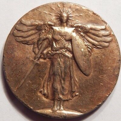 1919 Official World War I Victory Medal So Called 901 Winged Victory & Allies !!
