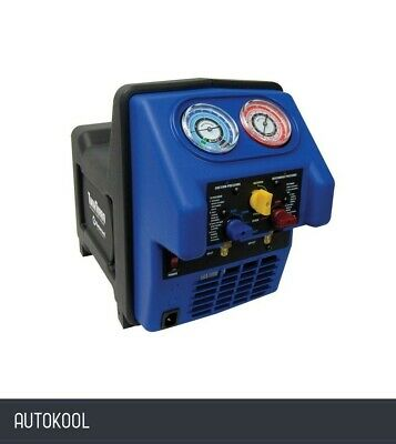 Mastercool Air Conditioning Twin Turbo Refrigerant Recovery Machine 69300-2V-Uk