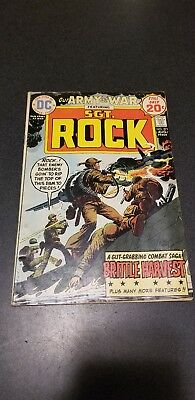 OUR ARMY AT WAR #271 in FN/VF 1974 DC WAR comic SGT ROCK - JOE KUBERT cover
