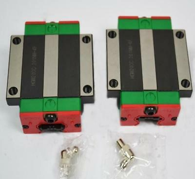 HGW20CA ( match with HGR20 rails) Linear carriage Flange blocks HIWIN-New