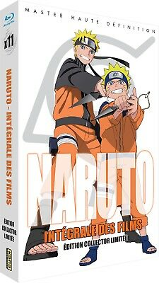 ★ Naruto & Shippuden ★ Les 11 Films - Edition Collector Limitée (11 Blu-ray)