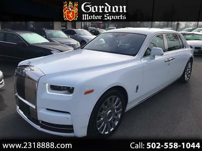 2019 Rolls-Royce Phantom EXTENDED WHEEL BASE 2019 ROLLS-ROYCE PHANTOM EXTENDED WHEEL BASE....ARCTIC WHITE OVER ARCTIC WHITE