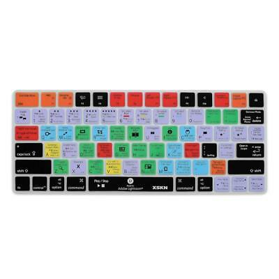 XSKN Magic Keyboard Lightroom Shortcut Cover, Durable LR Hotkeys Silicone...