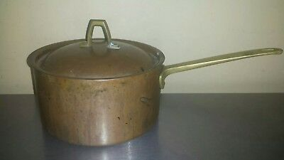 Vintage Paul Revere 1776 1976 Limited Edition Copper & Brass Stock Pot