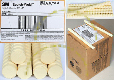 "10PCS 3M Scotch-Weld Hot Melt Adhesive Sticks 3748 VO-Q  5/8"" x 8"" #T6582 YS"