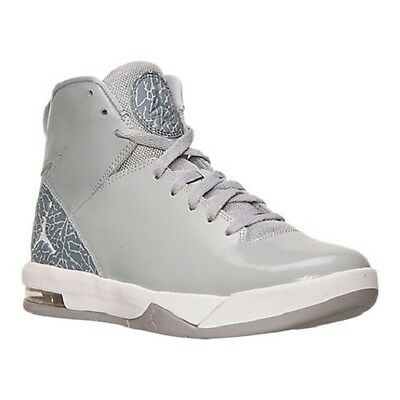 Men's Jordan Air Imminent Off Court Shoes, 705077 011 Sizes 8.5-11 Wolf Grey/Whi