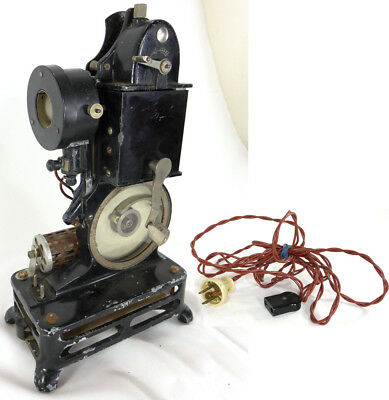 Pathe Baby 9.5mm film motion picture projector Pathescope antique Vintage France