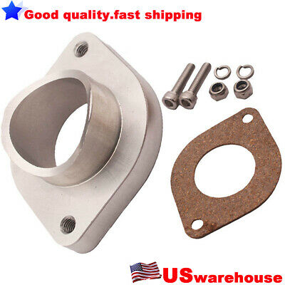 """CXRacing Polished 3/"""" Aluminum BOV FLANGE PIPE With BOV Adapter Welded"""