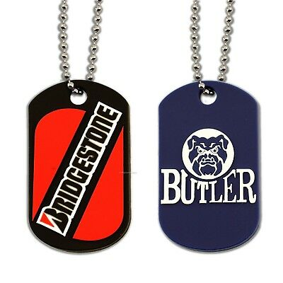 Single Sided Full Color Custom Personalized Photo Dog Tag Picture Pendant