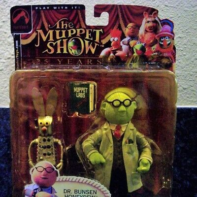"""""""The Muppet Show"""" Dr Bunsen Honeydew, 25 Yr Collectible Palisades Toys"""