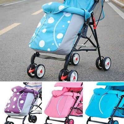 Baby Stroller Foot Muff Windproof Sleeping Bag Pushchair Snuggle Cover Colorful