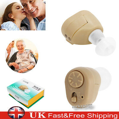 K-86 Mini Hearing Aid Hidden Micro Digital Sound Amplifier Discrete In Ear Case