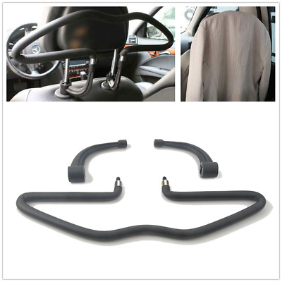 Stainless Steel Car Seat Headrest Coat Rack Holder Jacket Suit Clothes Hanger