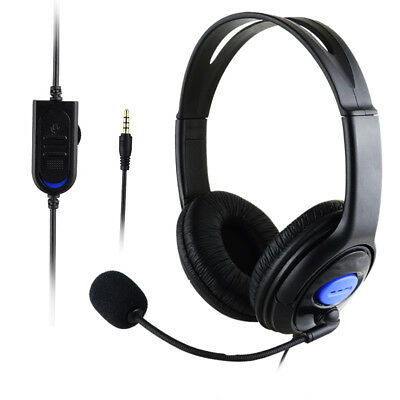 Stereo Wired Gaming Headsets Headphones with Mic for PS4/PC 890