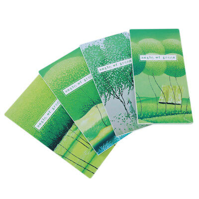 New Paper Notebook Creative Portable Landscape Ink Life Corner Green Notepad SM