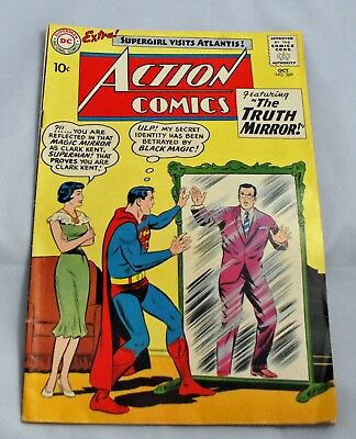 DC Comics - Silver Age  Action Comics #269 Superman Supergirl Truth Mirror(1960)