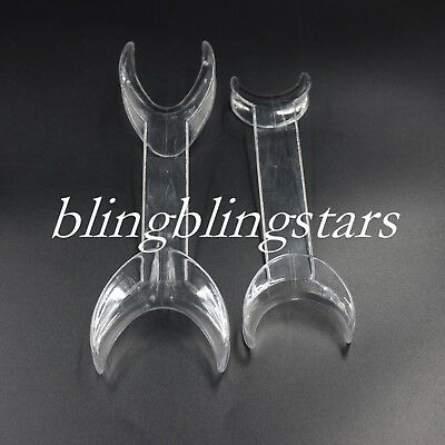 2X Dental Orthodontic Mouth Opener Tooth Whitening Cheek Double Retractor Lip