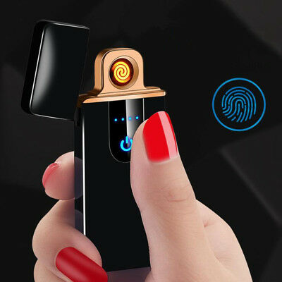Creative Touch Induction USB Windproof flameless Electronic charging lighters