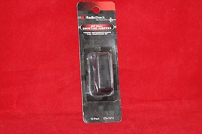 DIP Shunt Shorting Jumpers, RadioShack, 10 Pack. (276-1512, 2761512)