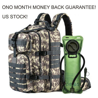 New EDC Backpack Day Pack Bug Out Bag Survival Tactical Military Emergency 33L