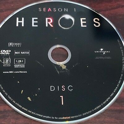 Heroes Season One(Dvd) Replacement Disc #1