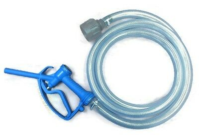 """ADBLUE Nozzel Gun Set With 1"""" Hose, IBC Connector And Hose Clips"""