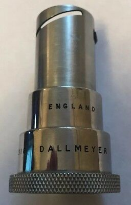 Vintage Dallmeyer Projection F=50mm Projector Lens 24mm / 38mm Great Condition